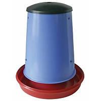 Бункерная кормушка для кур на 20 кг, фото 1