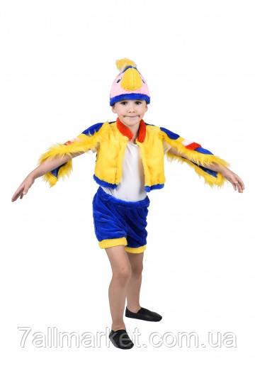 Карнавальный костюм Попугая для мальчика 3-7 лет (Украина) купить оптом в Одессе на 7 км