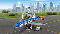 """Конструктор Lepin 02043 (аналог Lego City 60104) """"Пассажирский терминал в аэропорту"""", 718 дет KK"""