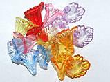 Цветок   бусина. акрил. размер 17 на 17 мм., фото 2