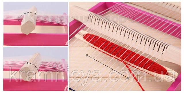 Ткацкий станок для плетения