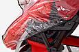 Силіконовий дощовик на коляску універсальний з блискавкою Baby Breeze 0310, фото 3