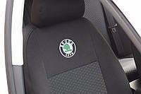 Автомобильные чехлы на сиденья для Nissan Almera classic B10 2006- (задн. сид. горбы)