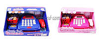 Кассовый аппарат детский игровой набор касса магазина 8388A/-2 2 вида, на батарейках, калькулятор, с продуктами в корзине, сканер в коробке  32*19*18