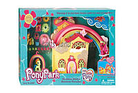 "Домик ""My Little Pony"" 2387  4 пони, аксессуары, в коробке"