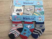 """Носки детские Бебики """"С Тормозами"""" для мальчиков до 1 года"""
