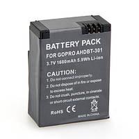 Аккумулятор AHDBT-301 (AHDBT-302, 201) для GoPro Hero 3 - 1600 ma