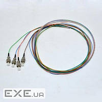 Набір кольорових пігтейлів LC/ UPC 1.5 m, MM (OM3), Easy strip, для 4 вол. (B (PG-1.5LC(MM)(SO)E-K4)