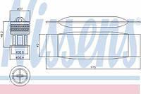 Осушитель кондиционера Volkswagen Jetta 2005 - 2010 NI 95490