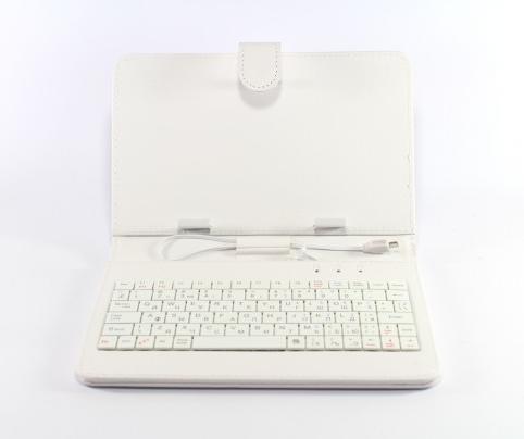 """Чехол с клавиатурой Keyboard 7""""  White, фото 2"""