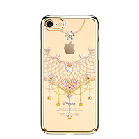 "Панель накладка Kingxbar ""Heart"" с камнями Swarovski для телефонов iPhone 7 / 8 ,7+, 8,8+, X."