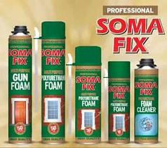 Пена монтажная Profit 65 литров SOMA FIX