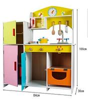 Кухня детская деревянная Е 21378 (1) в коробке
