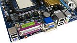 Плата AMD SAM2 AM3 GIGABYTE GA-MA74GM-S2H c HDMI ВЫХОДОМ Понимает 2-4 ЯДРА ПРОЦЫ X2,X3,X4 до PHENOM II X4 945, фото 2