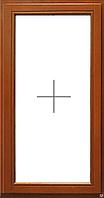 Окно деревянное глухое, евробрус сосна(размером - 0,8*1.4м) с 2кам стеклопакетом