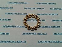 Магнитные шары цвет золото