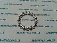 Магнитные шары цвет серебро