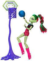 Игровой набор с Венерой Мухоловкой. Monster High Casketball Champ Venus Mcflytrap, фото 1