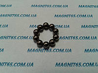 Магнитные шары цвет тёмный никель