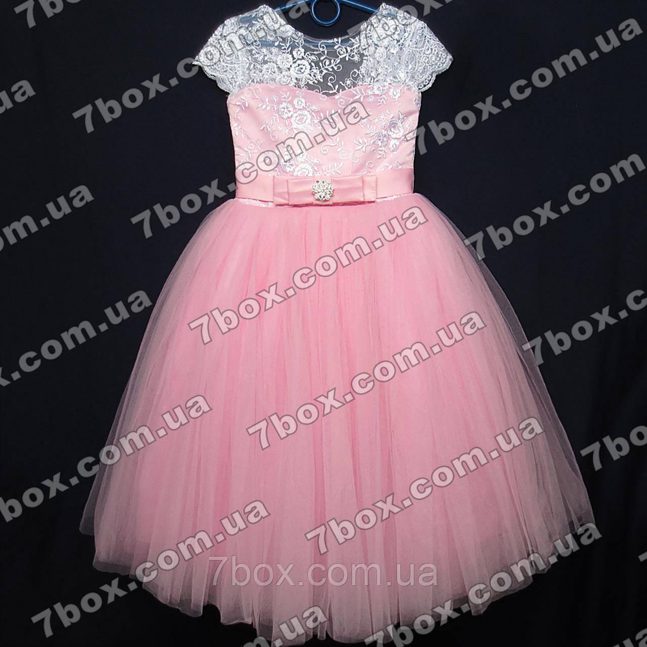 Дитяча сукня бальна Грація (рожеве) Вік 6 років.
