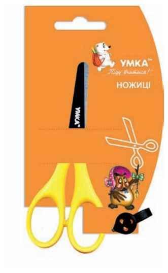 Ножиці дитячі УМКА, НЦ403, 12.7 см