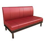 Офісний диван NORMAN на металлокаркасе. М'які меблі для офісу, фото 3