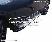 Подножки для Suzuki Vitara 2015-... (в стиле BMW X5)