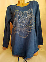 Модная женская кофта со стразами оптом и в розницу