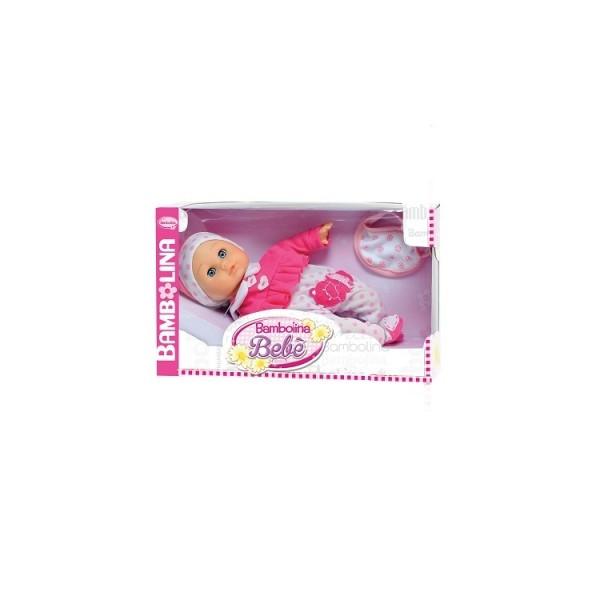 Говорящая кукла BAMBOLINA - Малышка Флора 34 см с аксессуарами