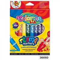 Маркеры со штампом Colorino