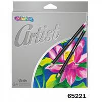 Карандаши Artist 24 цвета, Colorino