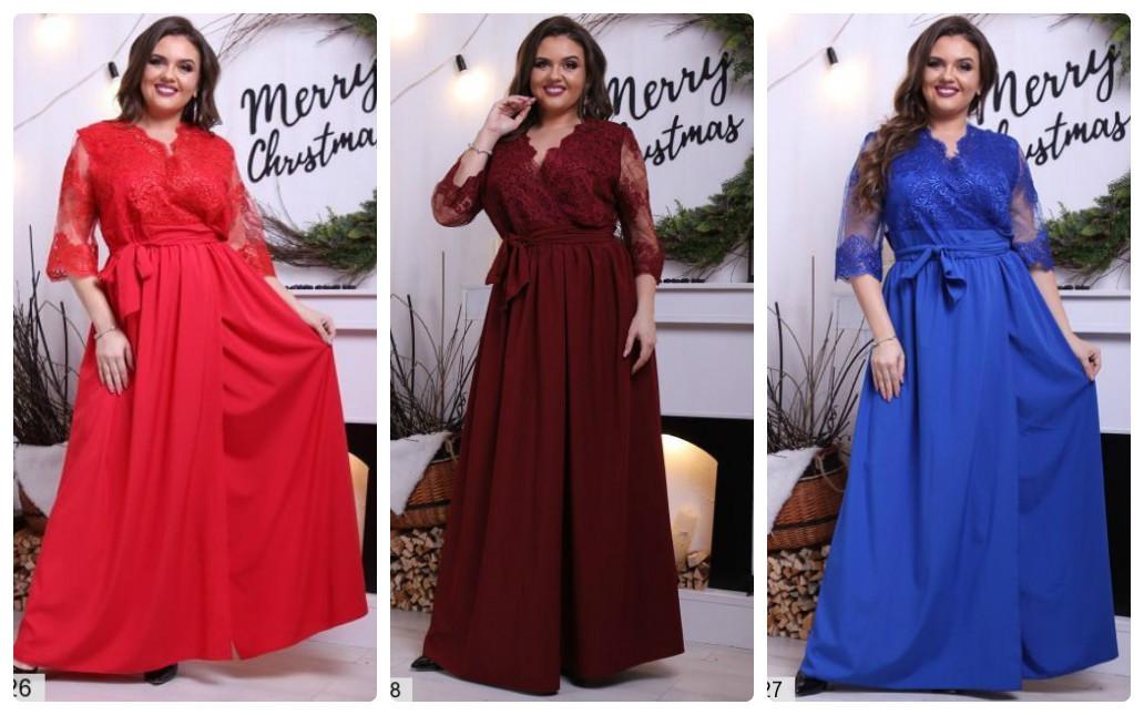 f70c39d4ab9 Платье нарядное в пол на новый год большого размера 50-64  продажа ...