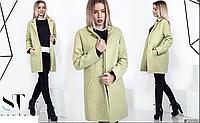 Стильное женское пальто букле на подкладе,норма р.42,44,46,48 ST-Style