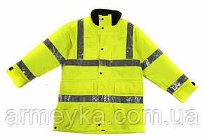 Водонепроницаемая светоотражающая куртка Police. Великобритания, оригинал.