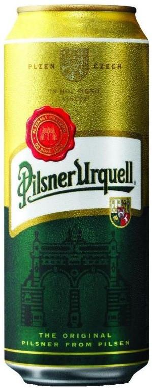 Пиво Pilsner Urquell 4,4% ж/б 500 мл Чехия Оригинал!!