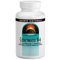 Витамин В6, Source Naturals, Коэнзимный, 300 мг, 30 таблеток
