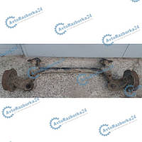 Балка задней подвески под барабаны в сборе для Opel Combo 2001-2011