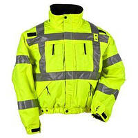 Водонепроницаемая светоотражающая куртка с подстежкой Police (укороченная). Великобритания, оригинал., фото 1