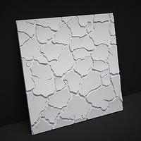 """Гипсовые 3D панели для стен  """"Сахара"""", 500х500, фото 1"""