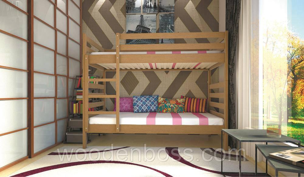 Кровать ТИС Трансформер-1 90*200 Бук