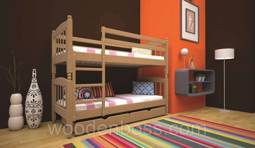 Кровать ТИС Трансформер-3 90*200 сосна