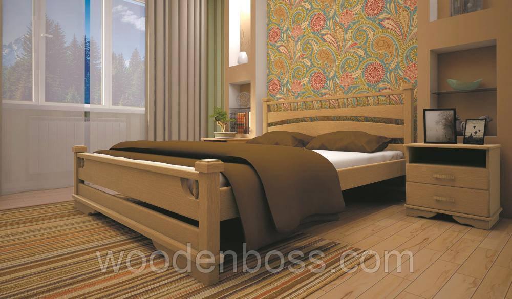 Кровать ТИС АТЛАНТ 1 140*190/200 сосна