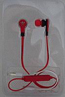 Наушники беспроводные Bluetooth Adidas X2 Wireless красный/черный