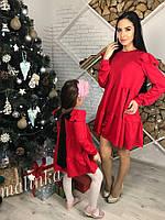 Комплект платьев- 650 грн, мама-400 грн и дочка- 300 грн