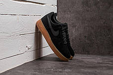 Мужские кроссовки Nike Air Force 1 '07 LV8 Suede Black/Gum, Найк Аир Форс, фото 3