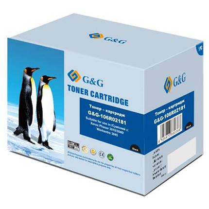 Картридж G&G-106R02181 для Xerox Phaser 3010/WC3045 Black, фото 2