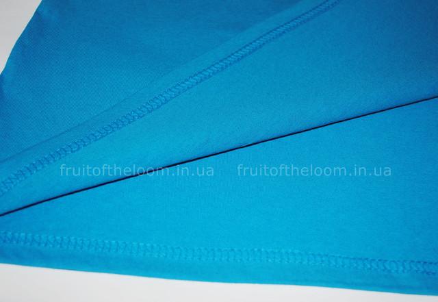 Ультрамариновая женская лёгкая футболка