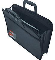 Портфель-сумка Axent 1612-01 А4 на молнии, 2 отделения