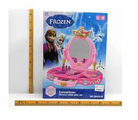 "Туалетный столик ""Frozen"" 88023-01 (1370468)   батар,свет,звук,зеркало,фен,аксесс"