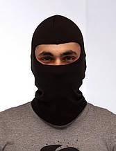 Балаклава маска черная (зимняя)